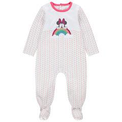 Dors-bien en jersey print Minnie à paillettes Disney