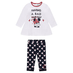 Ensemble tunique et legging imprimé Disney Minnie