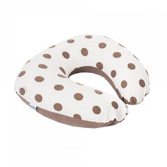Housse de coussin Softy – Dots Taupe