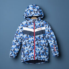 Junior - Waterdichte ski-jas met grafische print