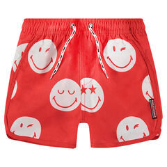 Short de bain motif ©Smiley all-over