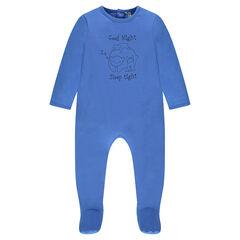 Pyjama uit jerseystof met dierenprint