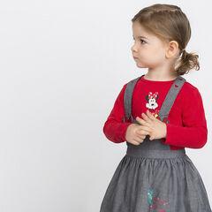 Tee-shirt manches longues Disney print Minnie