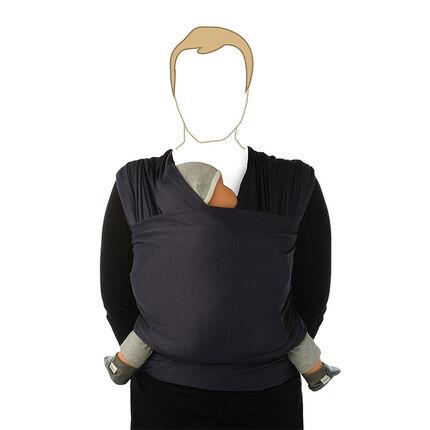 Porte-bébé tricot Slen cool - Navy blue