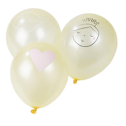 10 ballons gonflables princesse