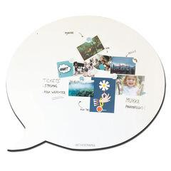 Tableau magnétique Bulle 95 x 80 cm - Blanc