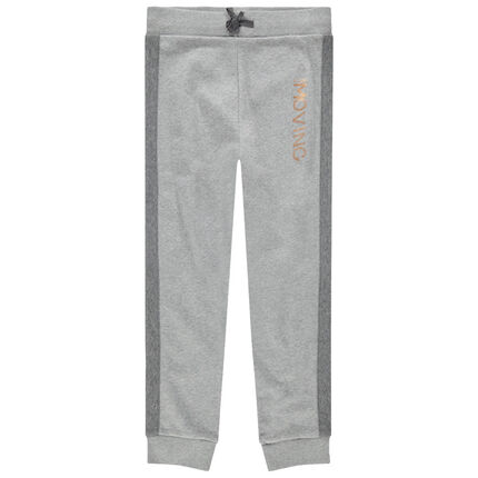 Junior - Pantalon de jogging en molleton à inscription en foil