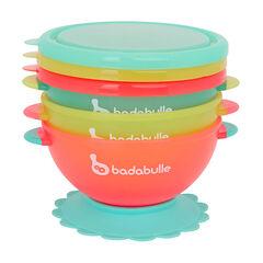 Lot de 3 bols à ventouse 330ml Funcolors Bowls