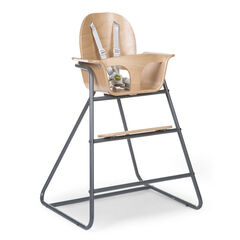 Chaise haute Ironwood - Naturel/Anthracite