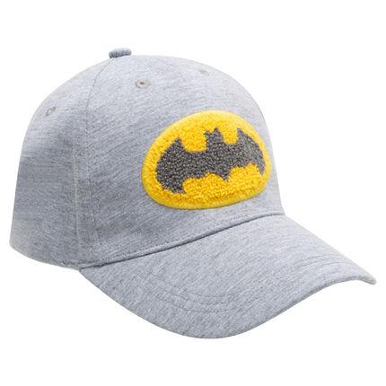 Pet van jerseystof met badge van bouclé ©Warner Batman