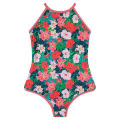 Junior - Maillot de bain 1 pièce à fleurs all-over
