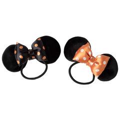 Lot de 2 élastiques à oreilles et noeud de Minnie Disney
