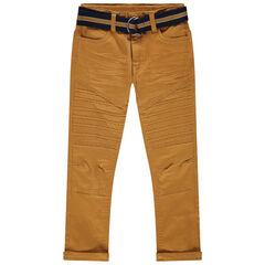 Pantalon en toile surteint à ceinture amovible