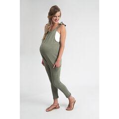 Combinaison longue de grossesse en maille , Prémaman