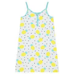 Junior - Chemise de nuit en jersey avec ananas printés