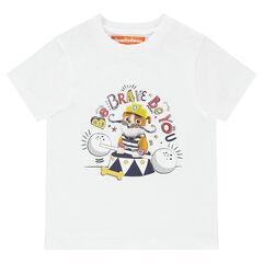 Effen T-shirt met korte mouwen met print van Ruben van Paw Patrol van Nickelodeon™