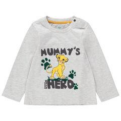T-shirt met lange mouwen met print van Simba Disney de Leeuwenkoning