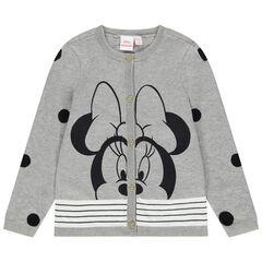 Disney tricotvest van biokatoen met print van Minnie