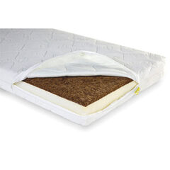 Matras Duo Kokos Natural Safe Sleeper - 60 x 120 x 12 cm