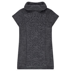 Robe en tricot avec col roulé