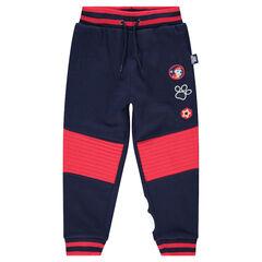 Pantalon de jogging en molleton bicolore avec badges Pat Patrouille Nickelodeon™