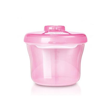 Reisbox voor melkpoeder - Roze