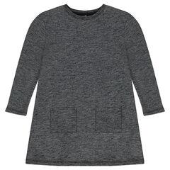 Junior - Robe manches longues à poches