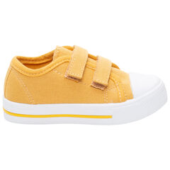Baskets jaunes en toile à scratchs du 20 au 23