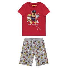 Korte pyjama van jerseystof met print Nickelodeon™ Paw Patrol