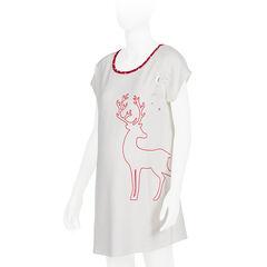 T-shirt voor tijdens de zwangerschap breed in zilverkleur sterren