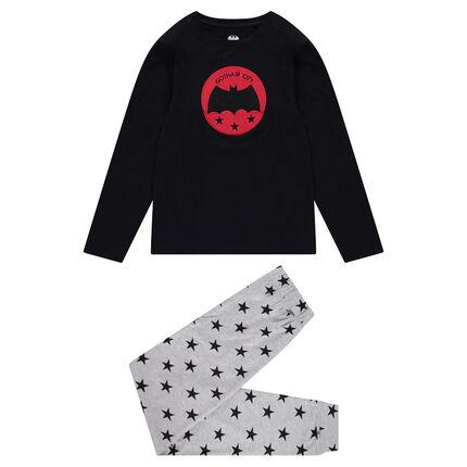 Junior - Pyjama met badge ©Warner Batman en broek met sterren