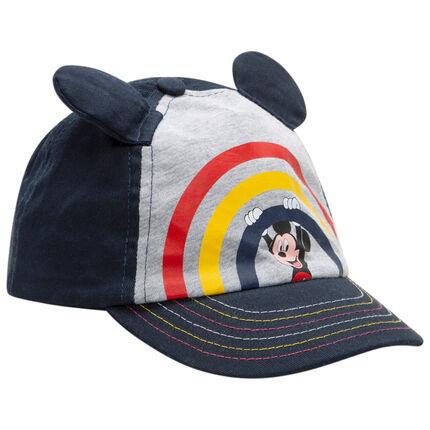 Casquette en twill à oreilles et print Mickey Disney