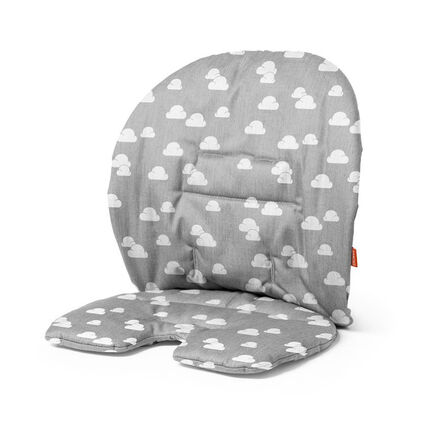 Coussin pour chaise Steps Baby Set - Grey Clouds