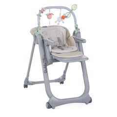 Chaise haute évolutive Polly Magic Relax – Beige