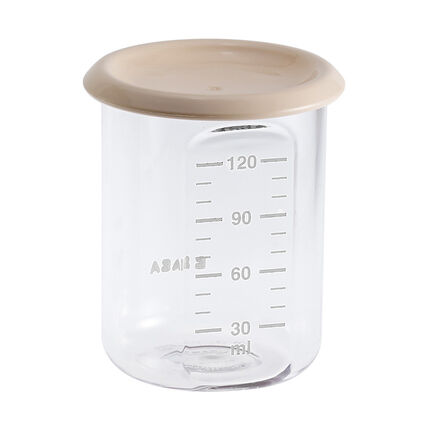 Baby Portion bewaarpotje 120 ml - Nude