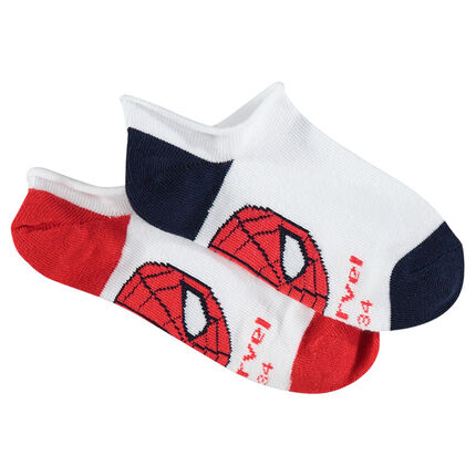 Set met 2 paar korte sokken van ©Marvel Spiderman