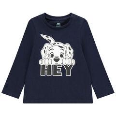 T-shirt manches longues en coton bio print 101  Dalmatiens Disney