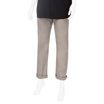 Pantalon de maternité en twill coupe chino
