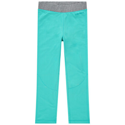 Legging de ski turquoise Smiley