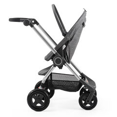 Châssis + siège Scoot V2 sans capote - Noir mélangé