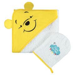 Disney badset  van badstof met geborduurde Winnie The Pooh