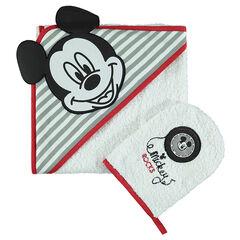 Disney badset  van badstof met geborduurde Mickey