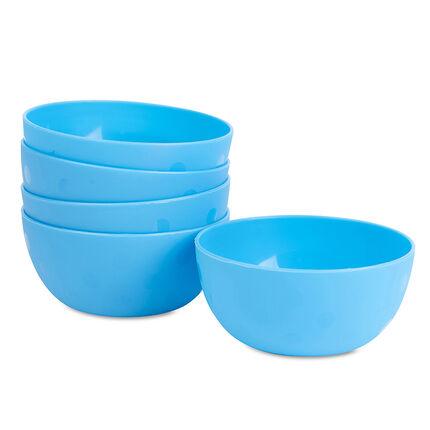 Set de 5 bols - Bleu