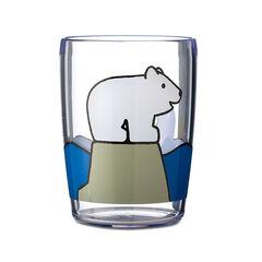 Verre Zoo imprimé ours