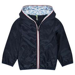 Coupe-vent doublé jersey avec poches à scratch