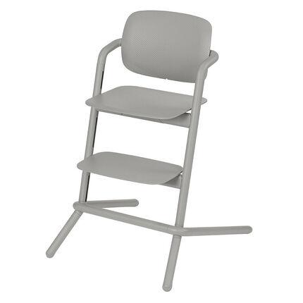 Chaise haute évolutive Lemo – Storm Grey