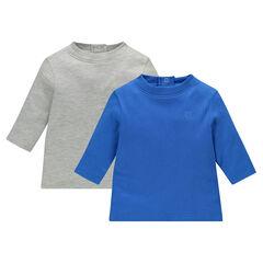 Set van 2 pulli in effen kleur