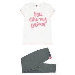Junior - Pyjama à message fantaisie