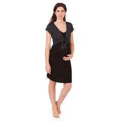 Zwangerschaps- en borstvoedingsnachthemd