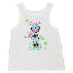 Débardeur Disney Minnie avec dos en dentelle